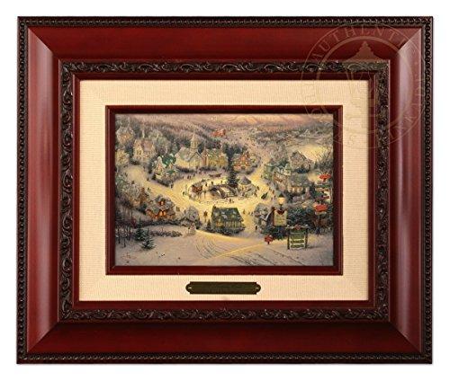 Thomas Kinkade St. Nicholas Circle Brushwork (Brandy - Thomas Kinkade Paintings Christmas