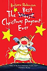 """Laughs abound in this bestselling Christmas classic by Barbara Robinson! The Best Christmas Pageant Ever follows the outrageous shenanigans of the Herdman siblings, or """"the worst kids in the history of the world."""" The siblings take ove..."""