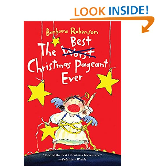 the best christmas pageant ever - Best Christmas Books For Kids