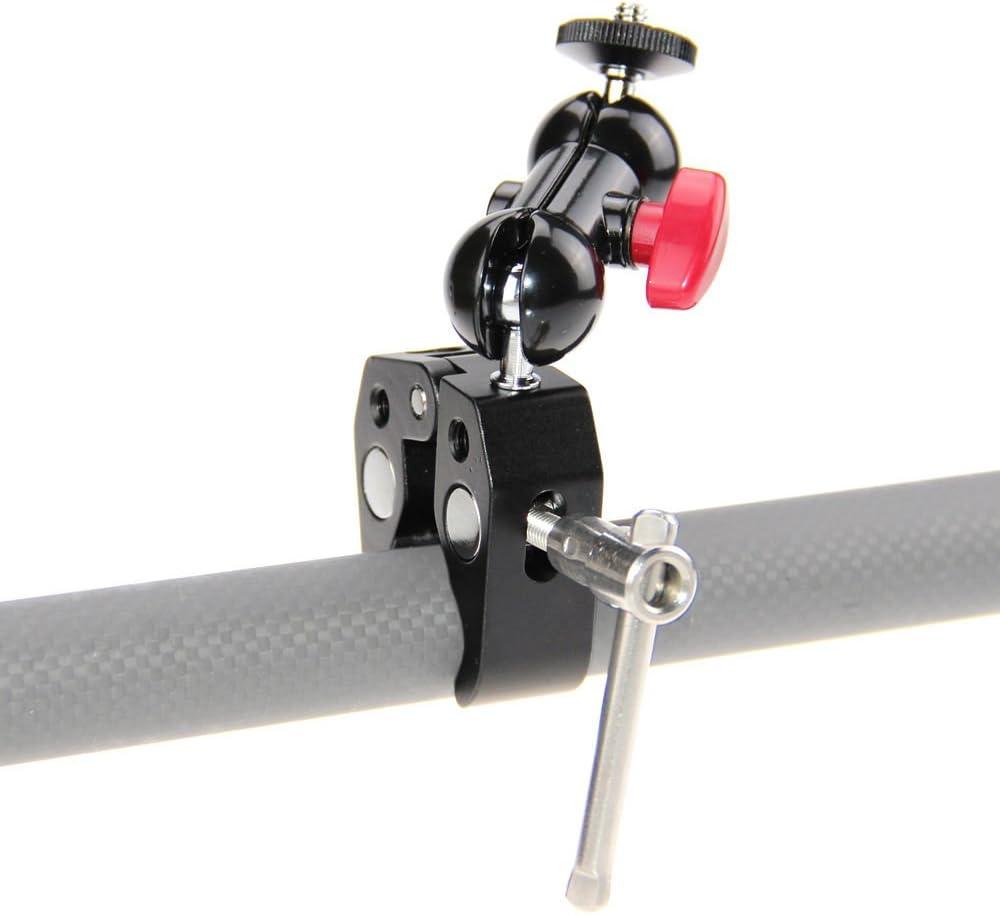 4-PCS Bicycle Mount Holder Pince Clip 360 ° Pivotant Pour DEL Lampe