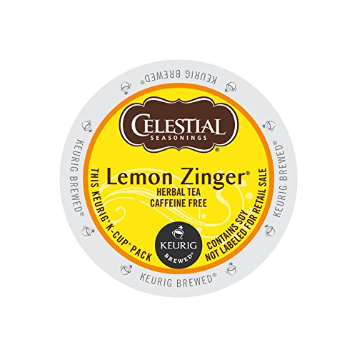 Celestial Seasonings Lemon Zinger Tea, 0.11 oz (12 count),Net Wt 1.3 oz (Pack of 6) by Celestial Seasonings
