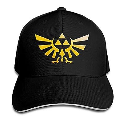 SANHUI Unisex Sandwich Cap Adjustable Baseball Hat