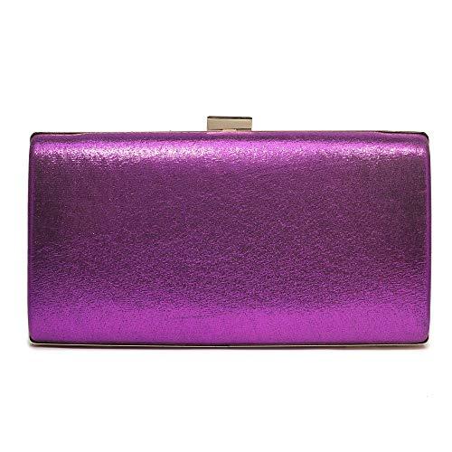 Clutch for Evening Bridal Bar Sz6814 Wedding Bags Dance Purple Party Prom Bag Womens Purse Handbag FS5wZwq