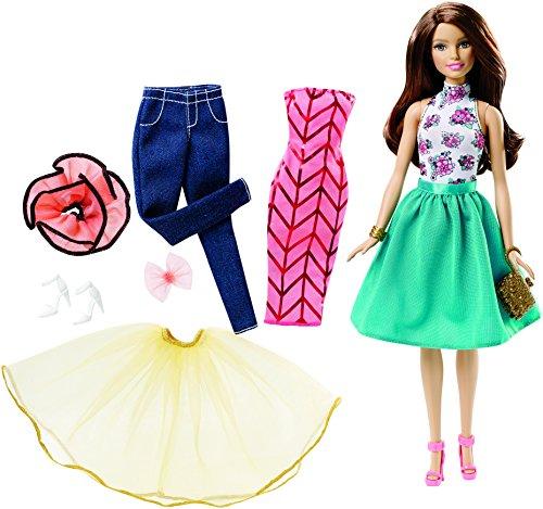Energie Pants Denim (Barbie Fashion Mix 'N Match Doll, Brunette)