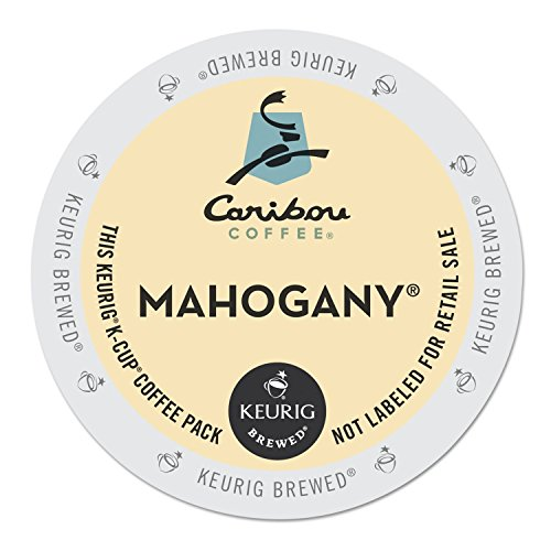 Caribou Coffee Mahogany, K-Cups for Keurig Brewers, 24-Count