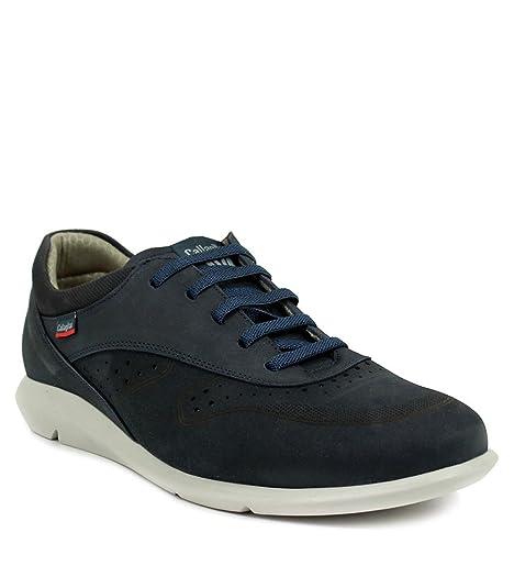Callaghan Sportline, Zapatos de Cordones Oxford para Hombre, Azul (Azul 2), 45 EU