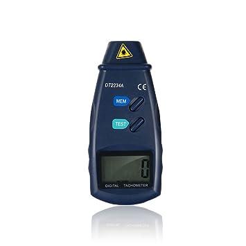 Tachometer Digitalanzeige NUZAMAS LCD RPM Test Kleines Motor ...