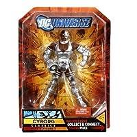 DC Universe Series 4 Cyborg (variante de brazo sónico) Figura de acción de DC Comics