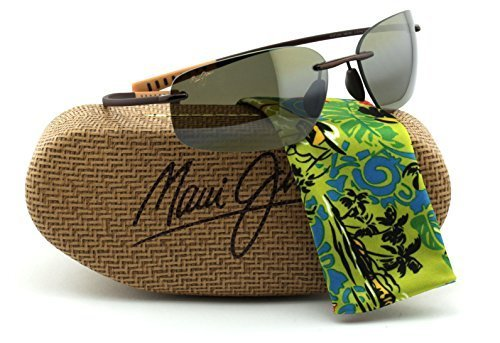 Maui Jim H742-23 KUPUNA Metallic Gloss Copper Frame / Polarized HCL BRONZE - Pool Venus