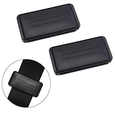 2X Car Seat Belt Adjuster Car Seatbelt Clip Stopper Strap Buckle Comfort Tension: Health & Personal Care
