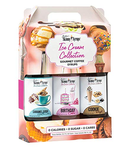 Jordans Skinny Syrups Trio Collections Variety (Pack of 3) (Ice Cream Collection Trio)