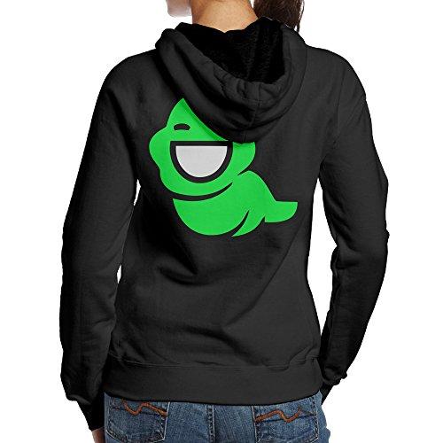 [YYUCGH Homestuck John Egbert Women's Pullover Hoodie Sweatshirts S Black] (John Homestuck Costumes)