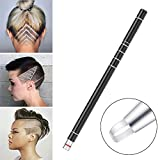 Hair Tattoo Trim Styling Face Eyebrow Shaping Device, Ociga Engraved Pen + 10 Blades + Tweezer Hair Styling Eyebrows Beards Razor Tool