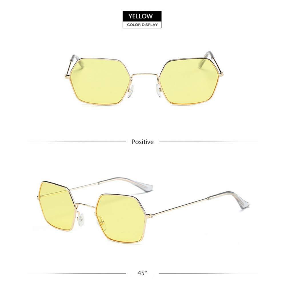 Amazon.com : YLNJYJ Moda para Mujer Gafas De Sol Pequeño ...