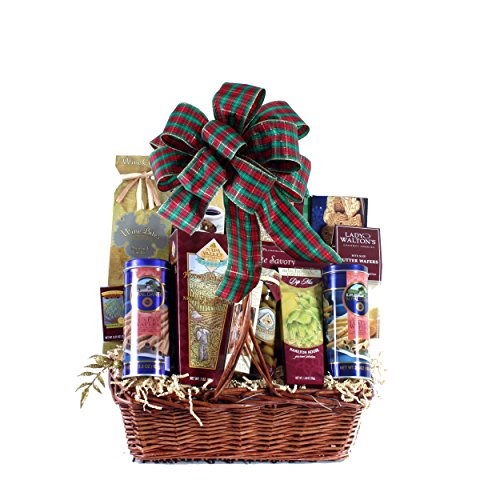 Plaza Flowers - Favorite Edibles Gourmet Food Basket - Deluxe