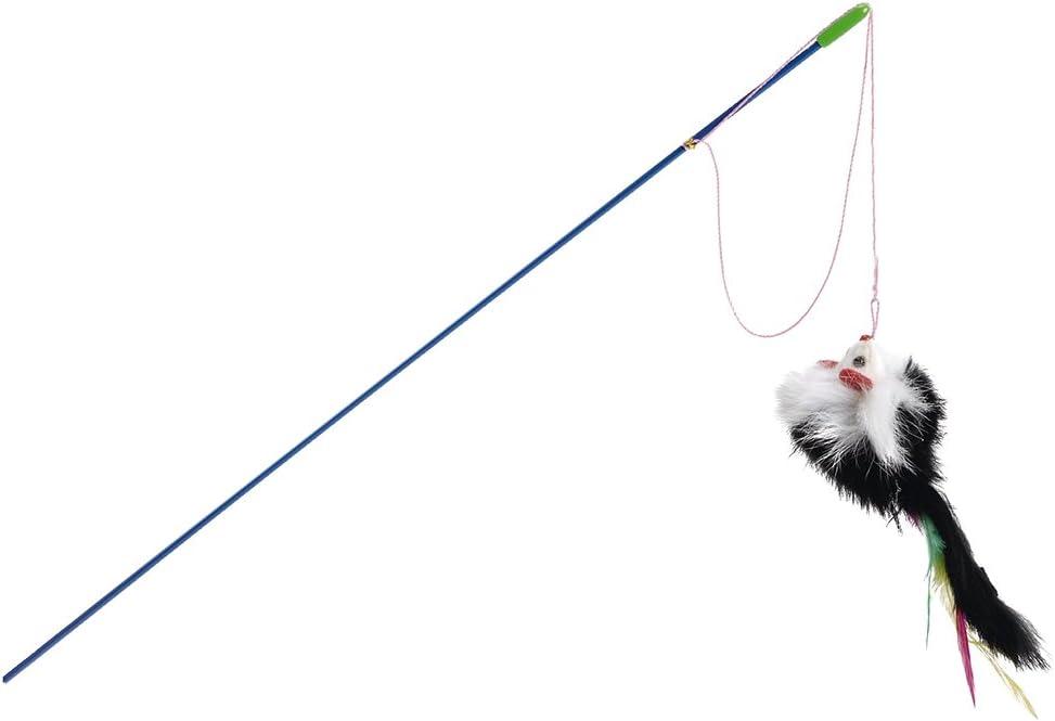 Beeztees - Juego de 24 cañas de Pescar para Gato: Amazon.es ...