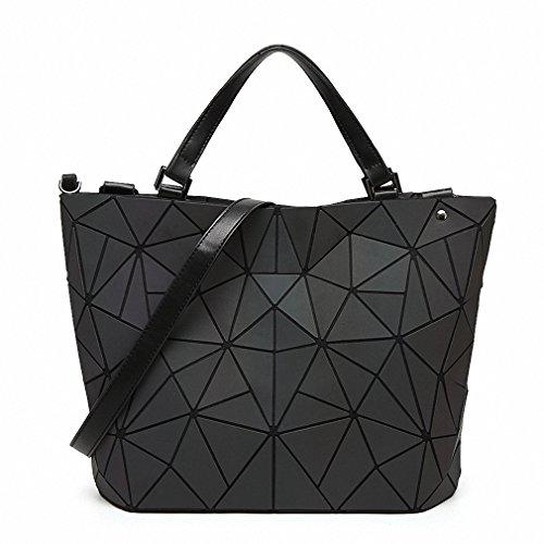 New Bao Bao bag Women Luminous sac baobao Bag Diamond Tote Geometry Quilted Shoulder Bags Laser Plain Folding Handbags bolso Noctilucent large