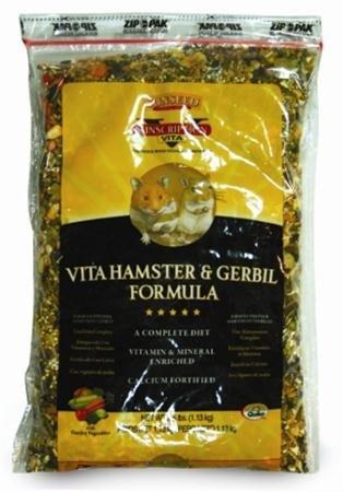 Sun Seed Company Vita Hamster W/ Garden Vegetables Formula 2.5Lb