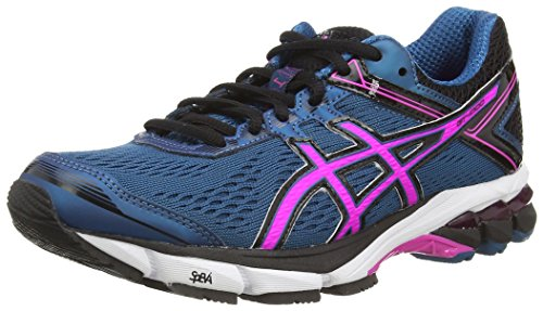 Blue Women's Shoes Gt 1000 Black Running Mosaic ASICS 5335 Pink 4 Blue Glow nYBwXx