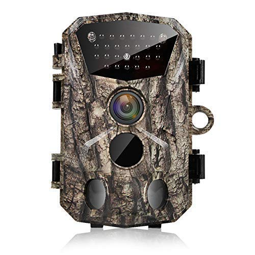 Wildlife Trail Camera 18MP 1080P HD Outdoor Game Camera with 120° Wide Angle Motion Activated Infrared Night Vision 25m 2.4