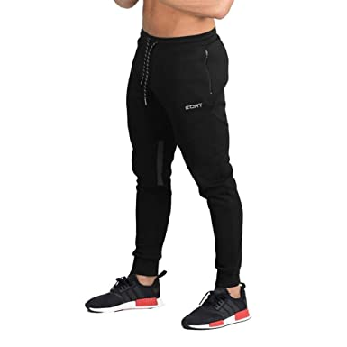 Hombres Hombres Casual Gym Running Fitness Workout Bottoms ...
