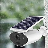 iBaste_Camera HD Solar Power Rechargeable Batteries, Surveillance Cameras, Outdoor Waterproofing