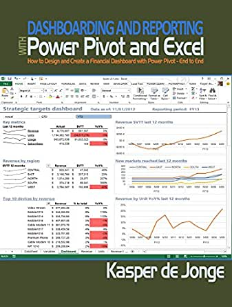 Amazon.com: Dashboarding and Reporting with Power Pivot and Excel ...