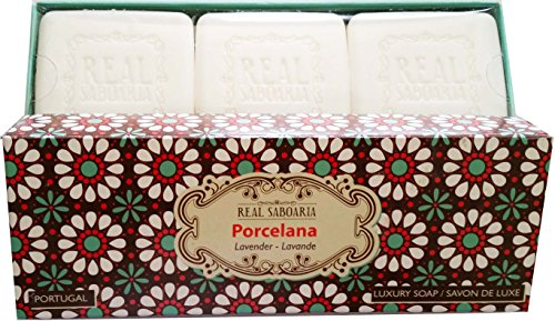 Real Saboaria Luxury Soap Gift Pack - Made in Portugal (Porcelana