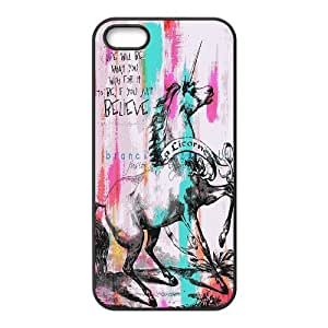 unicorn,Pegasus Horse art Hard Plastic phone Case Cover For Apple Iphone 5 5S Cases ZDI131309