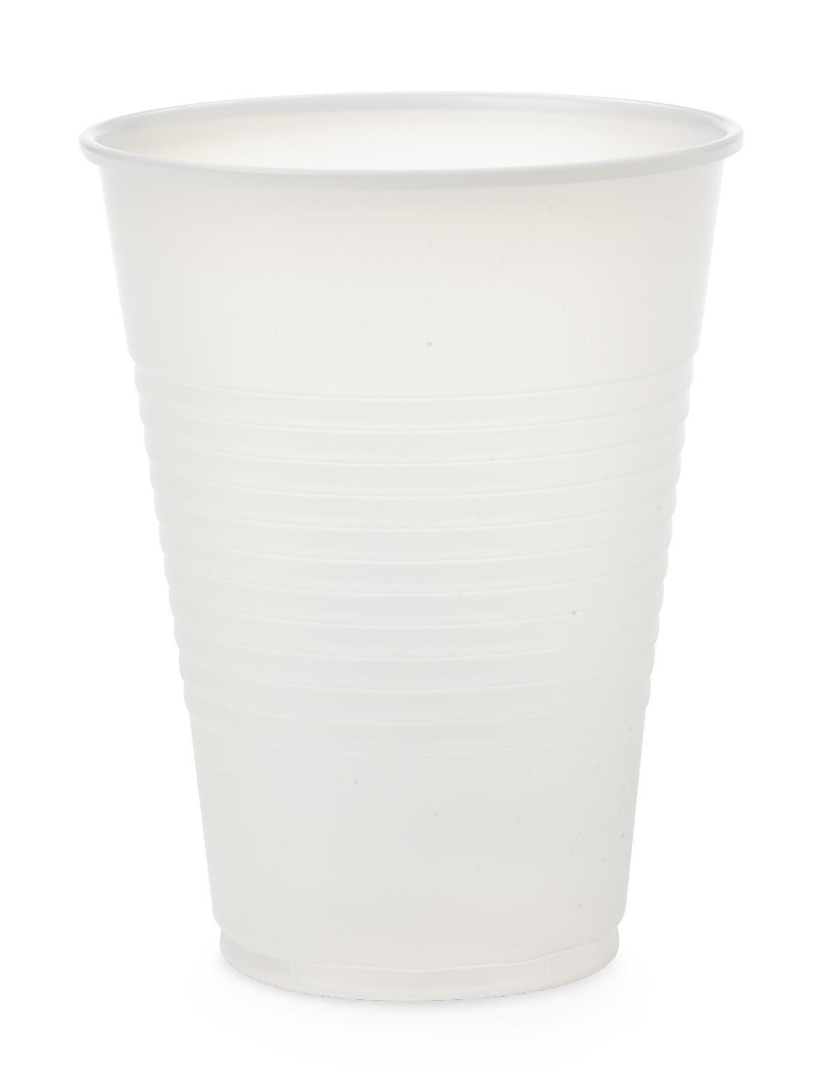 Medline NON03009H Cup, Plastic, 9 oz, Translucent (Pack of 100)