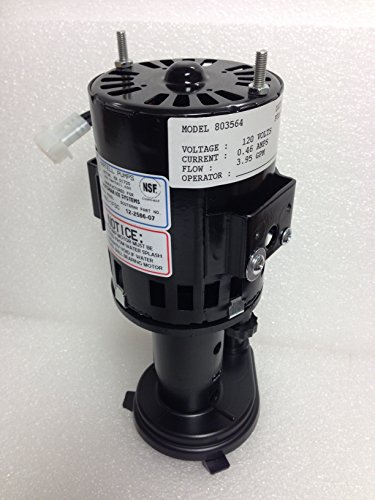 - Scotsman 12-2586-07 Water Pump 120V (6 Month Warranty)