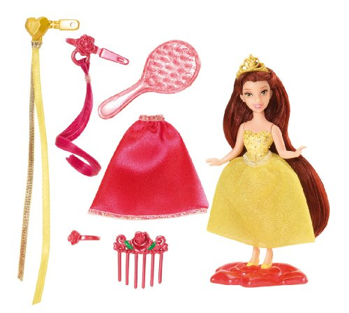 Disney Princess Little Kingdom Hairplay Belle Doll