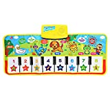 Hemore Kids English Musical Piano Music Carpet Play Mat Educational Electronic Toy