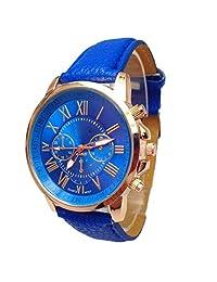 Women Analog Quartz Wrist Watch, LsvtrUS Stylish Faux Leather Watches