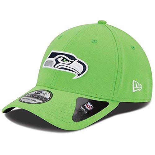 王族あいにくぼんやりしたNew Era New Era Seattle Seahawks Neon Green Team Classic 39THIRTY Flex Hat スポーツ用品 【並行輸入品】