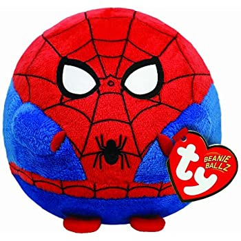 TY Beanie Ballz Spiderman Plush - Regular