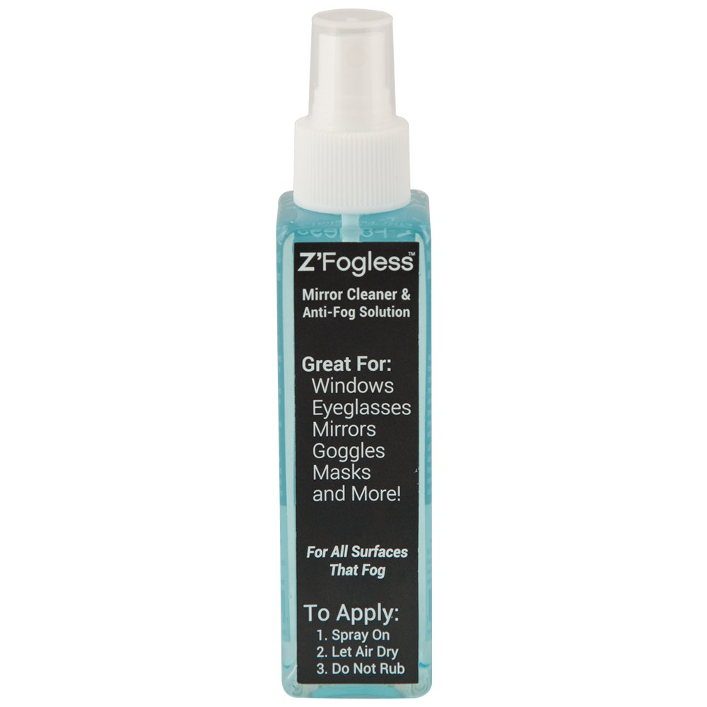 Zadro ZSP2 Fogless Anti-Fog Spray - 4 Ounces (2 Pack)