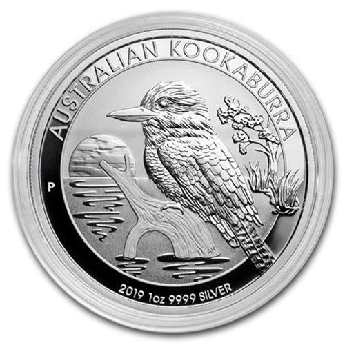 2016 Australia 1 oz Silver Kookaburra BU Gem BU Monkey Privy