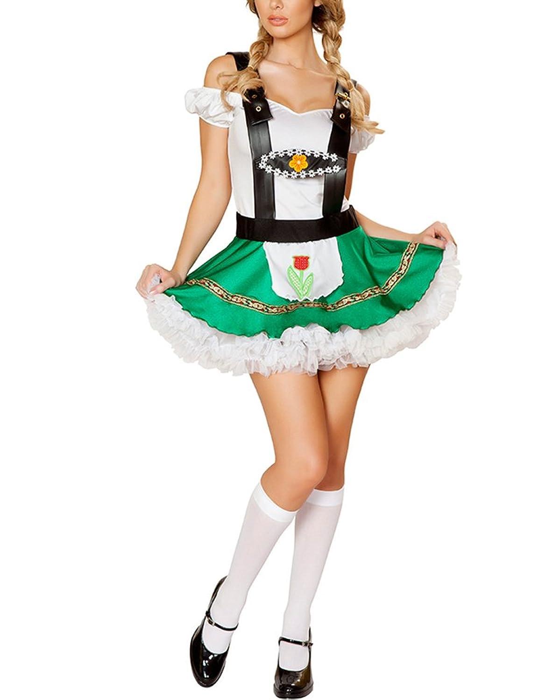 Damen Oktoberfest Bier Absatzförderung Kleid Dienstmädchen Kleidung Sexy Minikleid