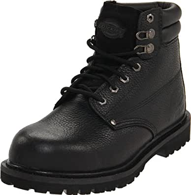 Dickies Men's Raider Steel Toe Work Boot, Black,7 M US