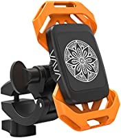 Phone Holder for Bike, VAVA Bike Phone Mount with Dual Strap & Magnet Support, Magnetic Bicycle Phone Holder, Motorbike Mount for Both Smartphone and Action Camera
