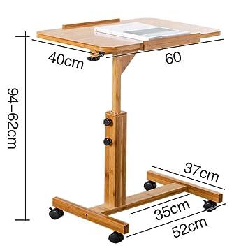 MOM Mesa pequeña para ordenador portátil, mesa de comedor ...