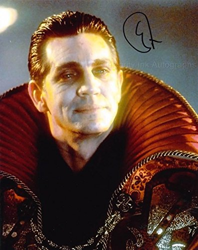 ERIC ROBERTS as The Master – Doctor Who TV Movies GENUINE AUTOGRAPH