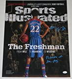 ANDREW WIGGINS SIGNED 16X20 PHOTO AUTOGRAPH SPORTS ILLUSTRATED INSCRIPTION JSA A