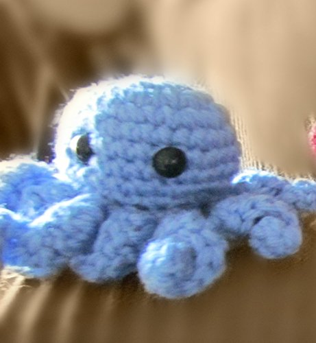 Crochet Pattern with Directions: Amigurumi Octopus by Baubles of Time