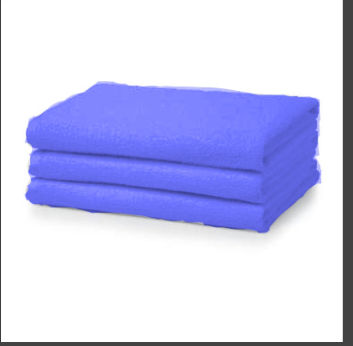 Pack of 1 Super Jumbo Bath Sheets Egyptian Combed Towel Extra Large 100 x 210 cm