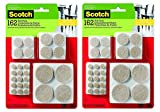 Scotch Brand Felt Pads, Great for Protecting