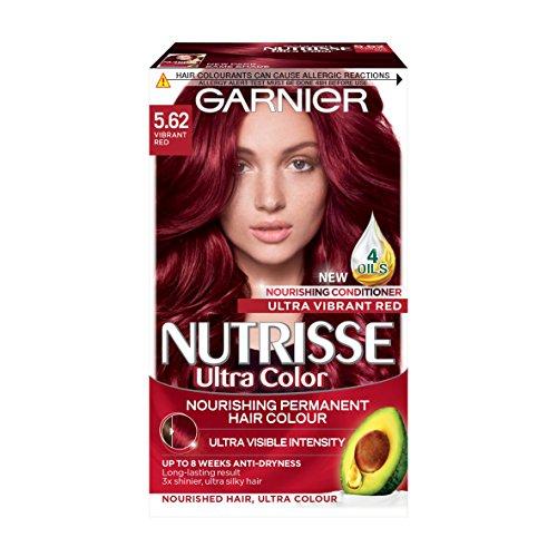 Garnier Nutrisse Ultra Color 5.62 Vibrant Red Permanent Hair Dye
