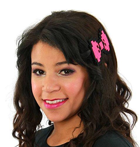 Dancing Participle Women's 8-bit Hair Bow Hot - 8 Bit Tie Bow