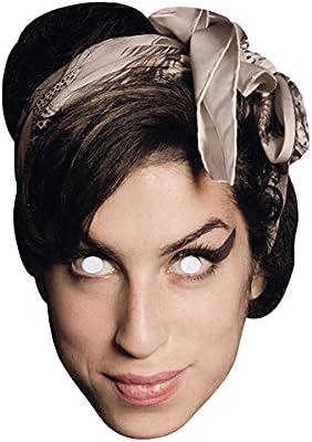 Máscara de cartón Amy Winehouse: Amazon.es: Hogar